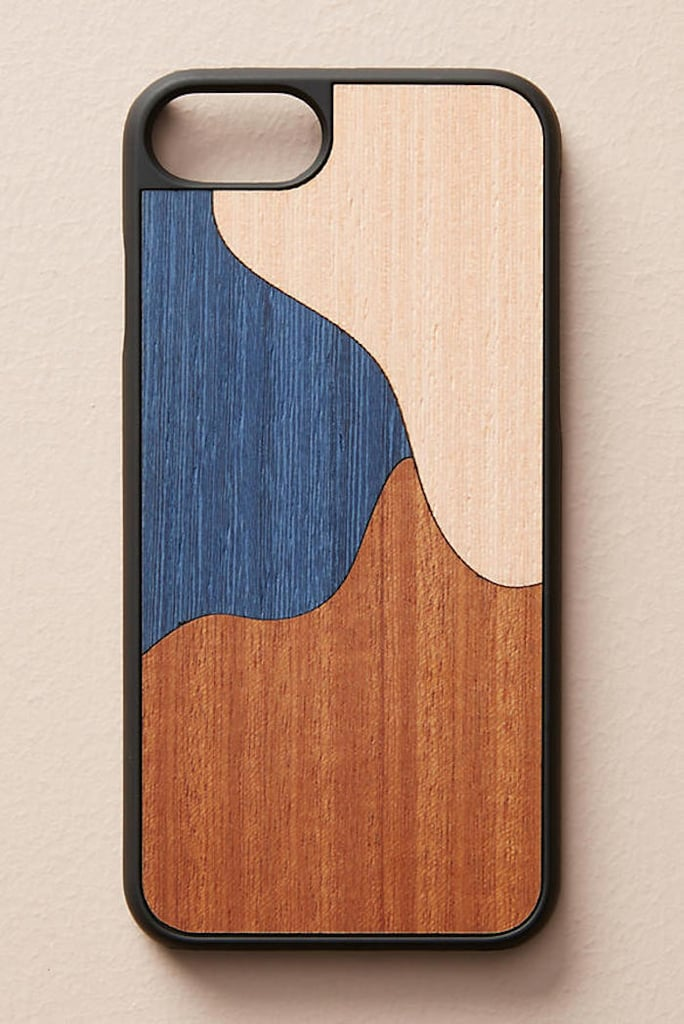 Wood'd Blue Inlay iPhone 6/7 Case