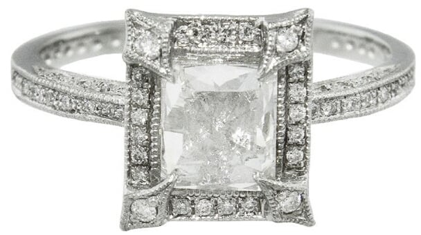zoom platinum waterman cathy in side designers product diamond cut rings ring rose petal wat