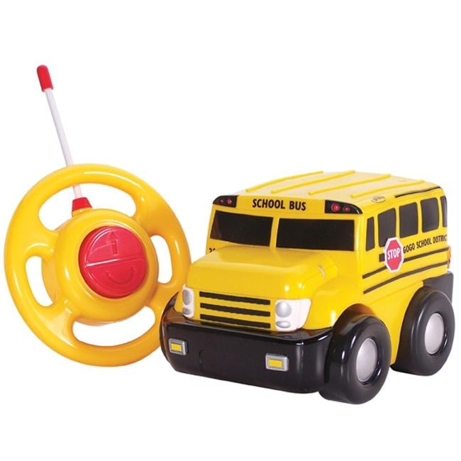 For 2-Year-Olds: Kid Galaxy My First RC Go Go School Bus