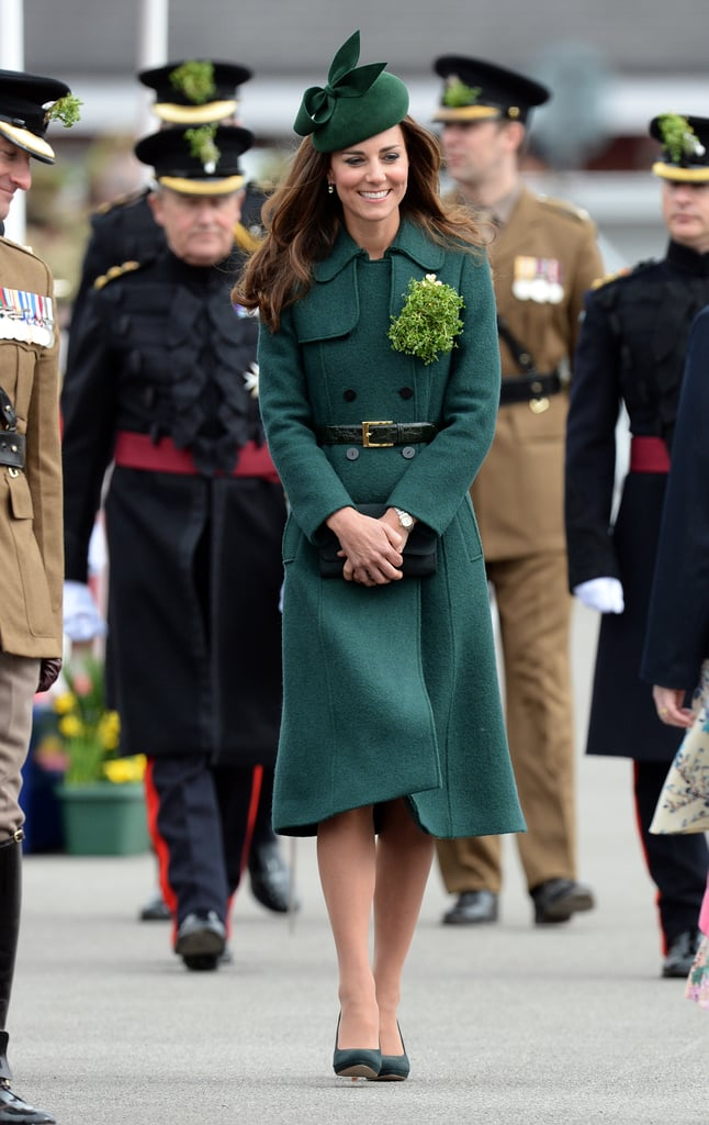 Kate Middleton at the St. Patrick's Day Parade in 2014