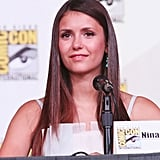 Nina Dobrev and Ian Somerhalder Couple Up For Comic-Con