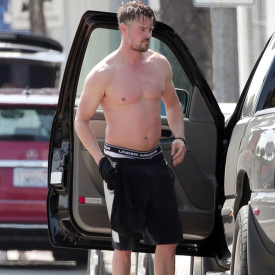 Josh Duhamel Shirtless in LA April 2016 | Pictures