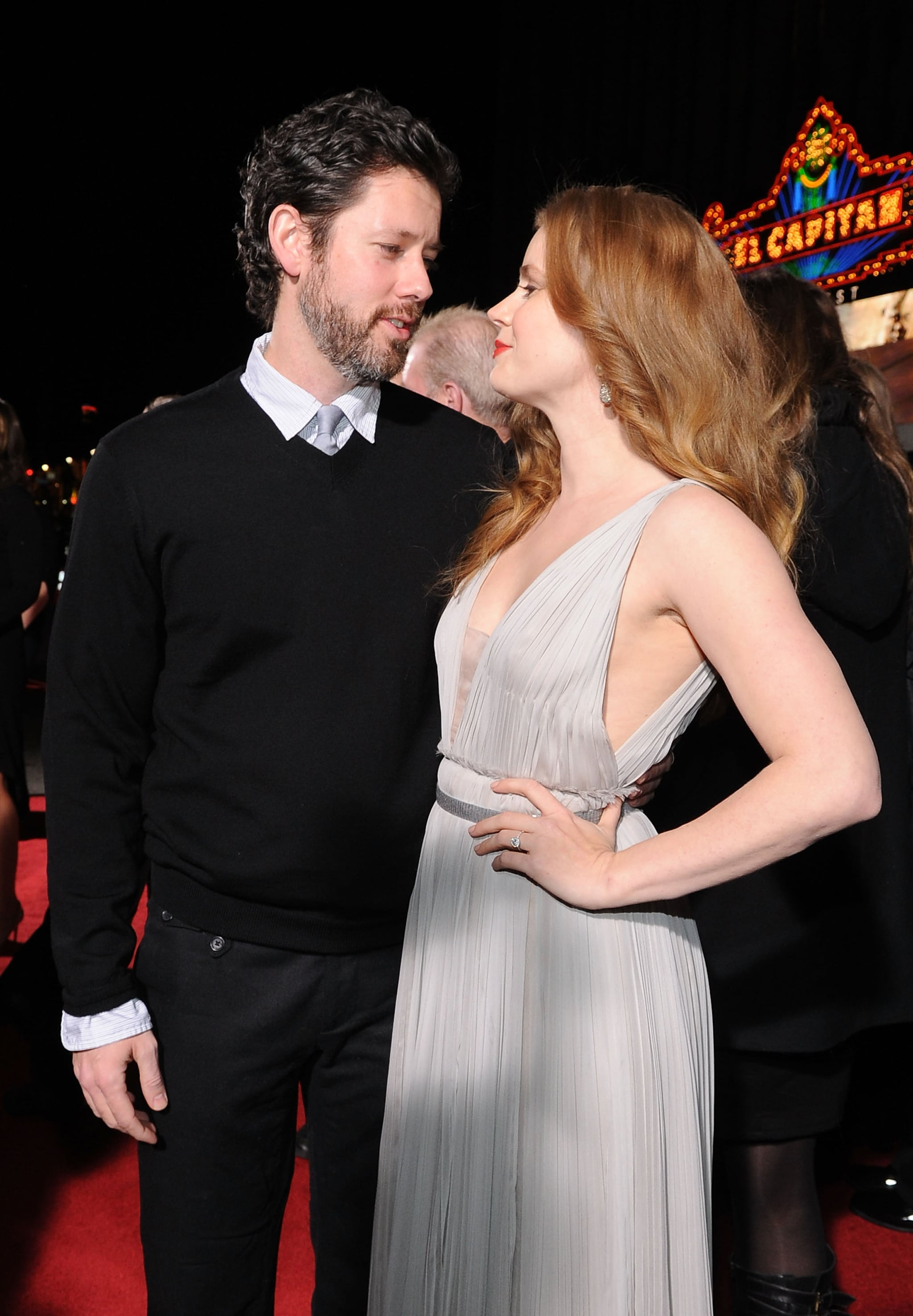Adams Auto Parts >> Pictures of Christian Bale, Mark Wahlberg, Amy Adams, and Melissa Leo at the LA Premiere of The ...