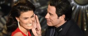 """John Travolta and """"Adele Dazeem"""" Reunite For a Hilarious Oscars Moment"""