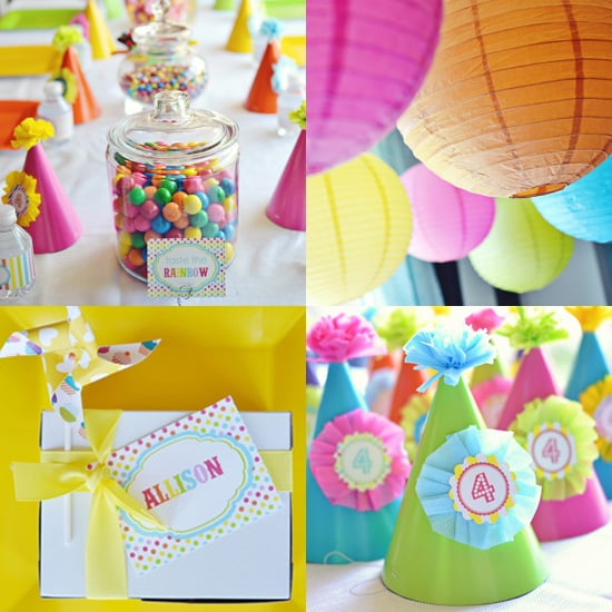 Rainbow Birthday Party Ideas For Kids