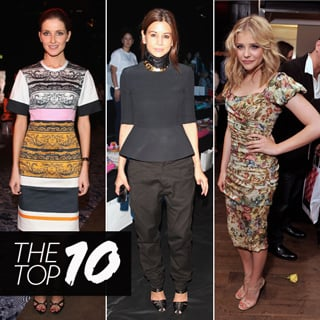 Top 10 Best Dressed Of The Week Including Chloe Moretz, Christine Centenera And More