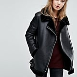 New Look Faux Shearling Jacket
