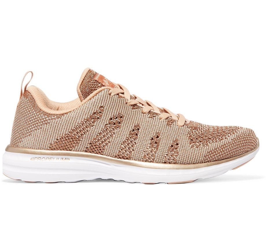 Techloom Pro Metallic Mesh Sneakers - Rose gold Athletic Propulsion Labs blzhfE