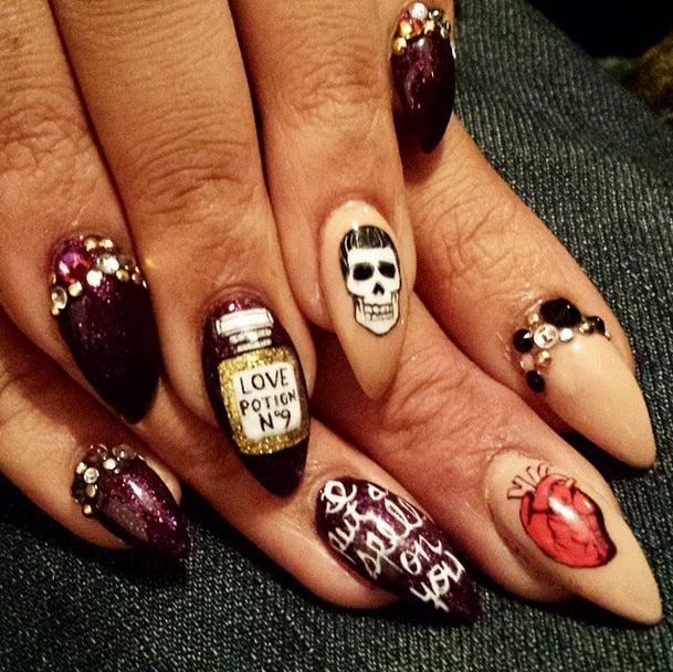 Diy nail art for halloween best halloween nail art inspirations diy nail art for halloween diy halloween nail art ideas popsugar beauty prinsesfo Gallery