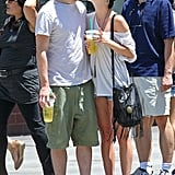 Ashlee Simpson Shares a Public Lip-Lock With Vincent Piazza
