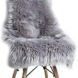 YOH Soft Faux Sheepskin Chair Cover Seat Cushion