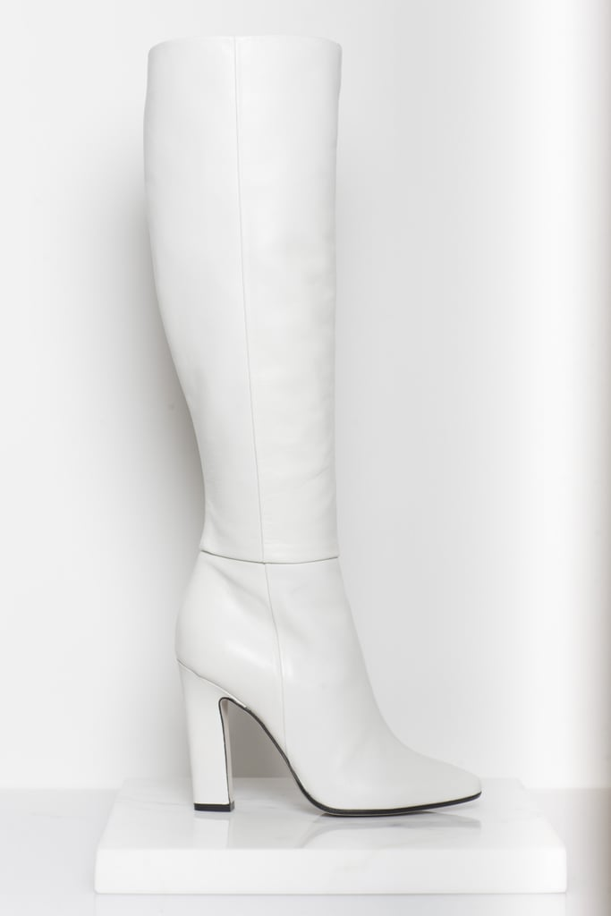 Why Not Nappa Knee High Boot in Cream Photo courtesy of Tamara Mellon