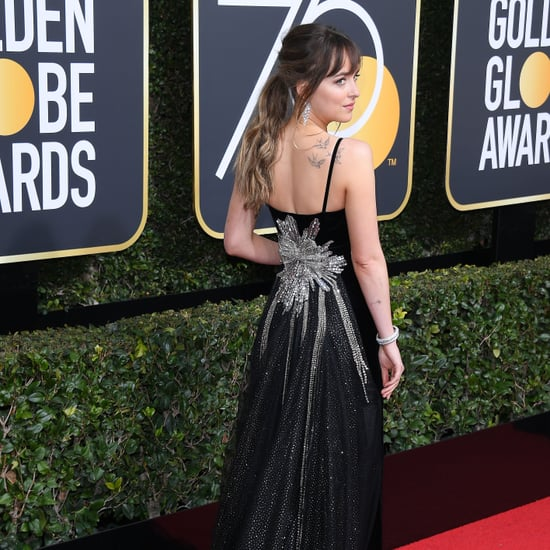 Back of Dresses Golden Globes 2018