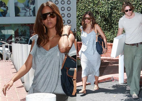 Photos of Halle Berry's Post Baby Body Shopping With Gabriel Aubrey