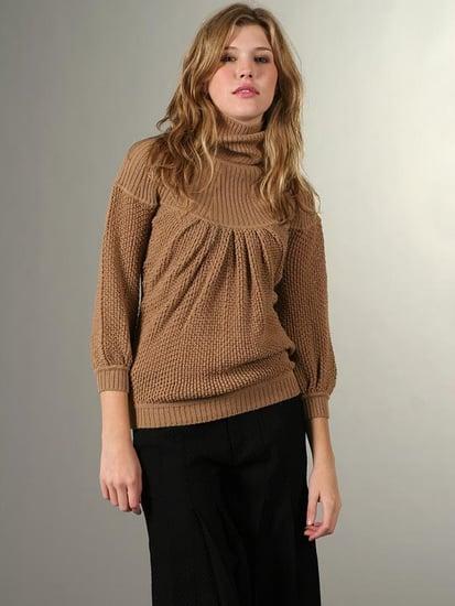 Trend Alert: Billowy Turtleneck Sweaters