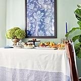 Use a Printed Bohemian Tablecloth