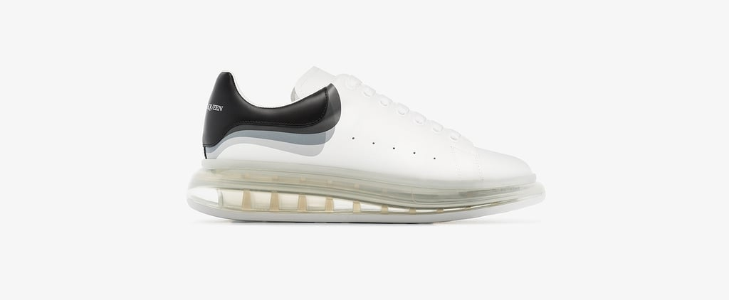 Alexander McQueen 3D Clear Sole Sneakers
