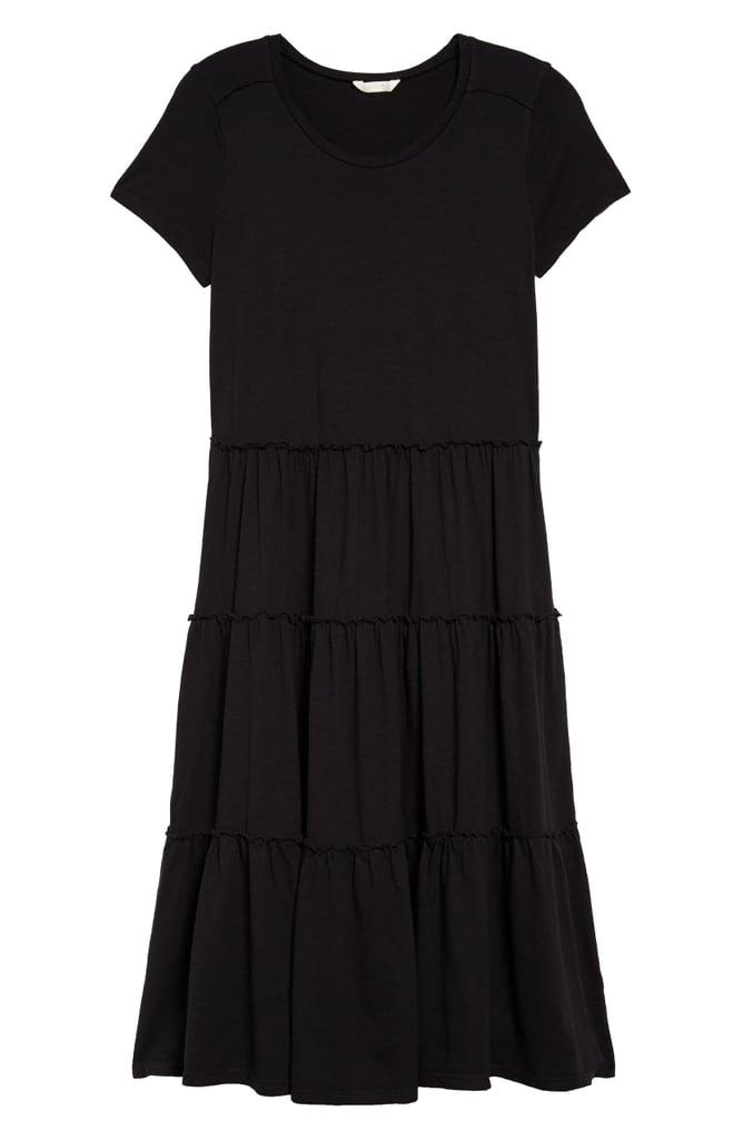 Caslon Tiered Knit Dress