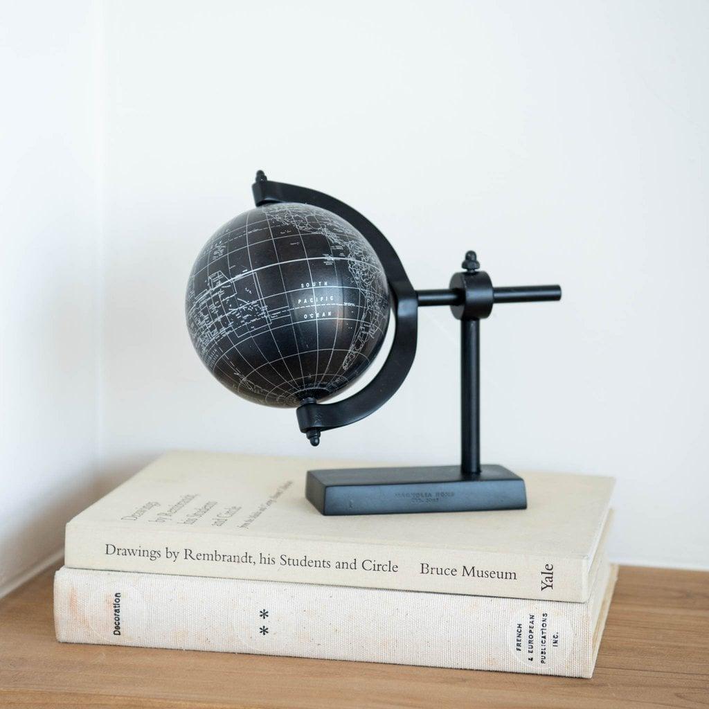 Metal Horizontal Globe
