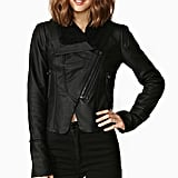 A Sleek Moto Jacket