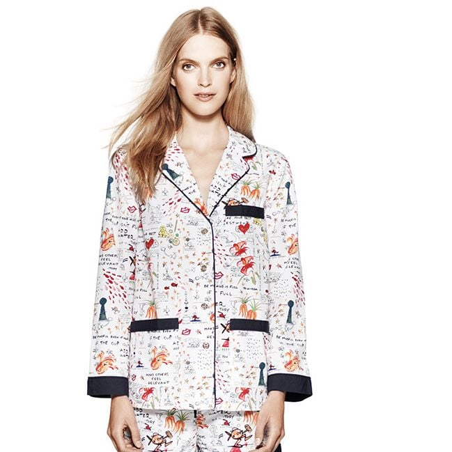 Lounge in style (while giving back) with Tory Burch's De la Vega Pajama Set ($195) — all profits from the adorable PJs benefit the Tory Burch Foundation, which provides economic opportunities to women and their families in the United States.