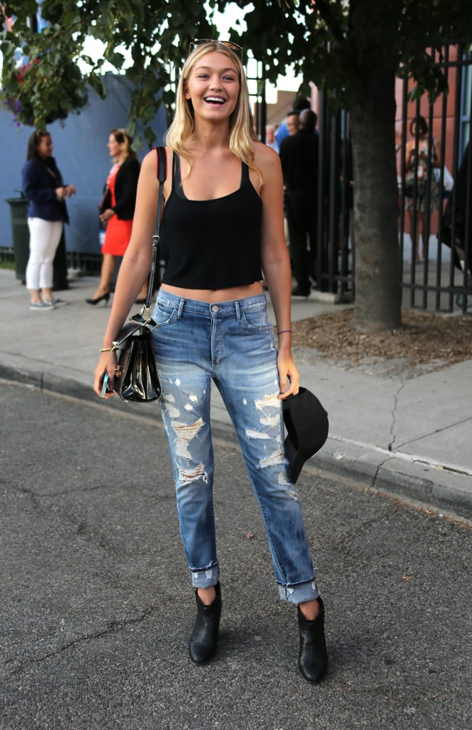 She's mastered the casual-cool street style look.