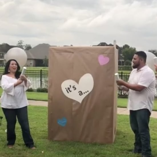 Gender Reveal With Giant Baby Doing Fortnite Hype Dance