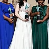 Adrienne Moore, Laura Prepon, Uzo Aduba