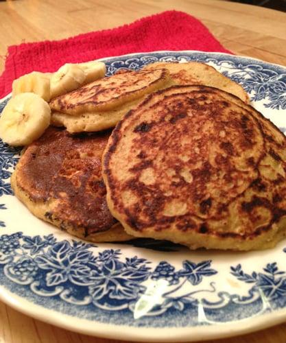 Gluten-free 3 Ingredient Pancakes