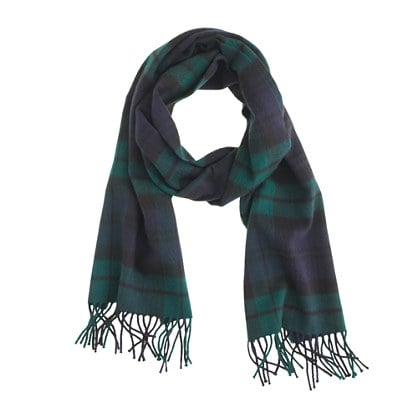 If you think you can make it through this month without a scarf, you're kidding yourself. This plaid cashmere version from J.Crew ($110) is not only an investment in an accessory that will last you a long time but also in your warmth and comfort. And what's more important than that? — Justin Fenner, associate editor