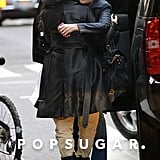 Katie Holmes hugged her stylist after they ran errands together.