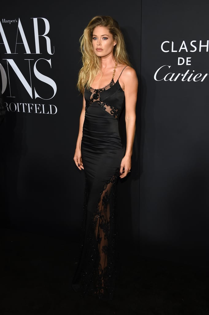 Doutzen Kroes at the Harper's Bazaar ICONS Party During New York Fashion Week