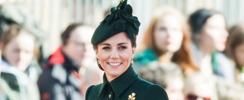 Kate Middleton's Green Coat on St. Patrick's Day 2019