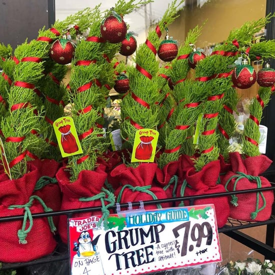 Trader Joe's Grinch Cypress Christmas Trees