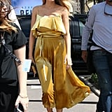 Blake Lively's Valentino Sundress Stunned in the Early Morning Sun