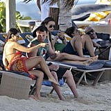 Jenna Dewan and Channing Tatum vacationed.