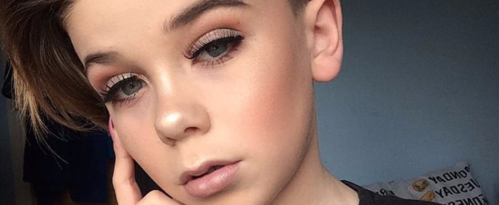 This 10-Year-Old Boy Is the Next Manny MUA and We're Obsessed