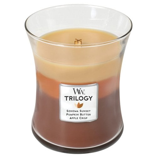 Woodwick Trilogy Autumn Comforts Candle