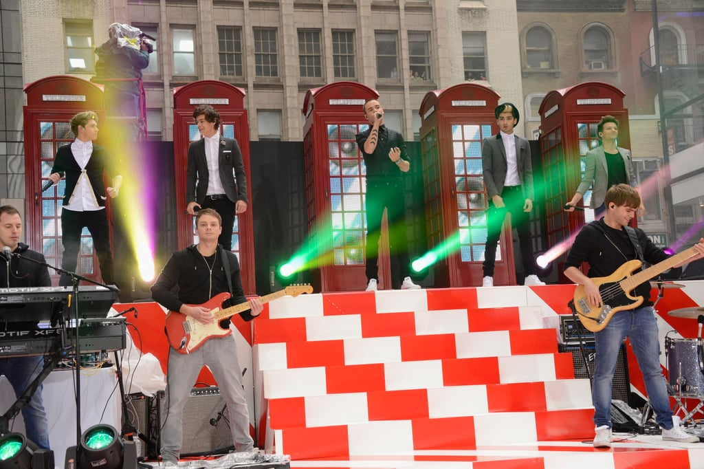 One Direction Performing on Today in 2012