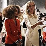 Project Runway Episode 12: Karlie's Alexander McQueen Ribbed White Dress