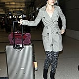 Rachel McAdams has been back and forth from London to LA lately.