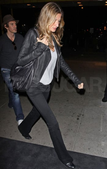 Pictures of Gisele Bundchen in New York