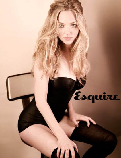 Amanda Seyfried Talks About Raw Food Diet in April 2010 Issue of Esquire