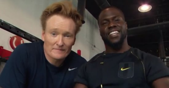 Watch Kevin Hart And Conan O'Brien Get Amped Up