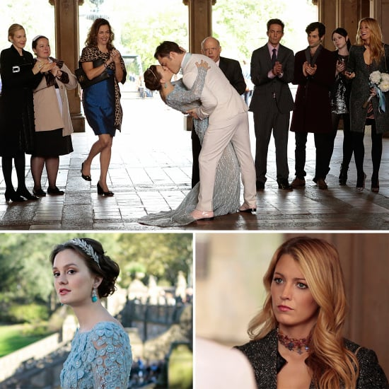 Chuck and Blair\'s Wedding Pictures on Gossip Girl | POPSUGAR ...