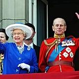 Pictured: Queen Elizabeth II, Prince Philip.