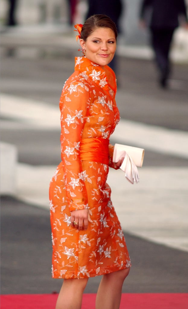 No Shade of Orange Is Too Bright or Bold For Her