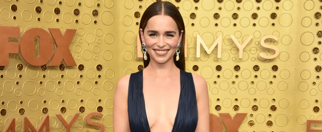 Emilia Clarke's Hair at the Emmys Look Was Inspired by J Lo