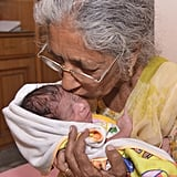 Woman in India Gives Birth to First Child at 72