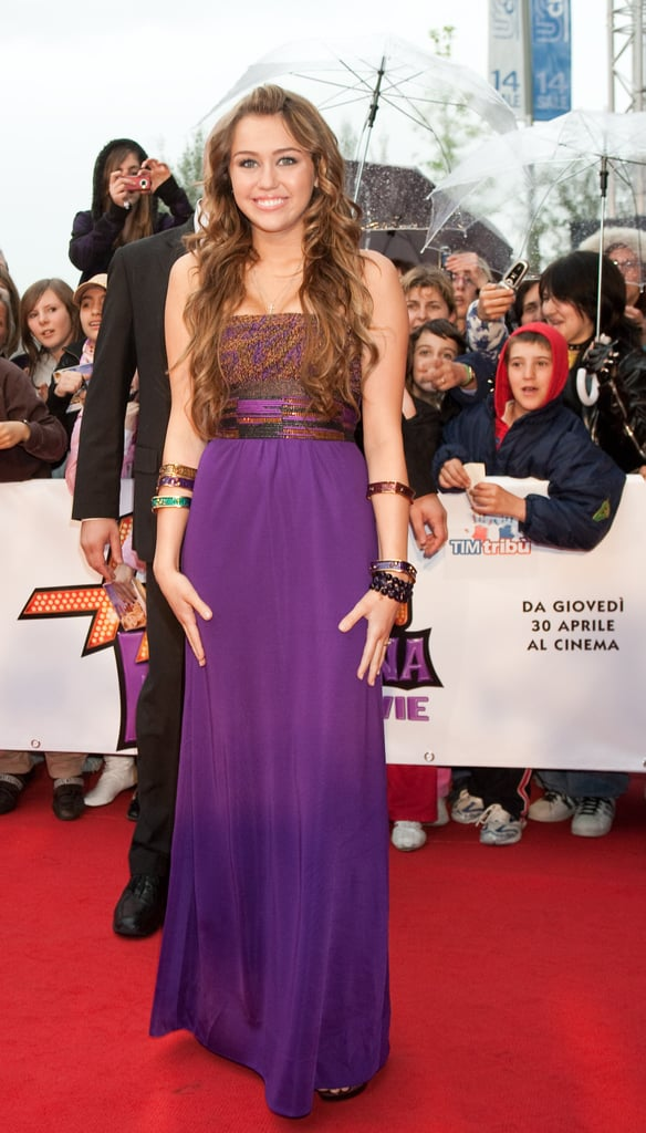 April 2009: Hannah Montana Premiere in Rome